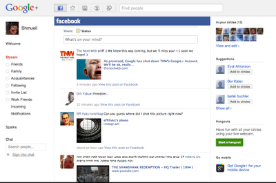 Google+Facebook 1.9.37 - facebook-приложение для google+ for Google Chrome