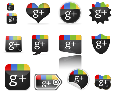 Иконки Free GooglePlus Icons Set