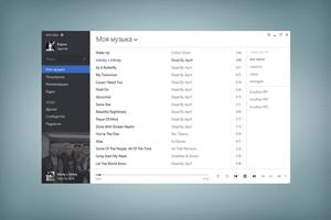 Meridian 4.1.579.0 – музыкальный плеер ВКонтакте в стиле Metro